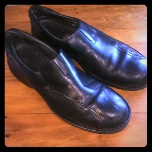 ♨️NEW ITEM♨️Clarks Black Leather Comfort 👞Loafers